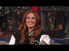 Julia Roberts Recalls Her First Interview with David Letterman