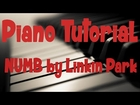 Linkin Park - Numb Piano EASY Piano Tutorial [HD]