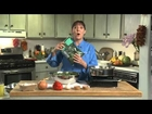 Cooking Lesson with Chef Lois Ellen Frank Ph D - Green Chile Enchilda Lasagna