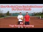 Building Explosive Power For Tennis-Medicine Ball Training