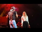 Tim McGraw and daughter Gracie Duet Nashville Bridgestone 8-15-15