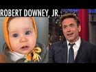 First Look at Robert Downey Jr.'s Baby Girl - David Letterman