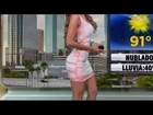 Yanet Garcia vs Ximena Cordoba - Battle Of The Latina Weather Booties 7-8-15