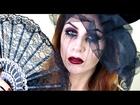 Black Widow Makeup Tutorial   Easy, Glam Halloween Look.