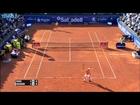 Nadal Hits Hot Shot Against Nishikori Barcelona 2016