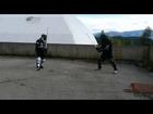 Italian sword fencing