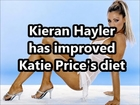 Kieran Hayler has improved Katie Price's diet