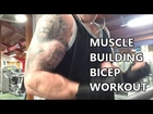 GymSmart - Shirt Ripping Bicep Workout video