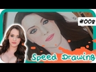 Speed Drawing #8 : Kat Dennings