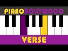 Samjhawan - Easy PIANO TUTORIAL - Verse [Both Hands]