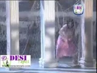 Hot Private mujra girl, wet boobs mujra in rain