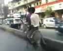 Babbu maan driving khoti in song jatt ne trala pauna a