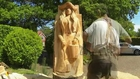 Chainsaw Dave: Time Lapse Chainsaw Carving -