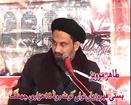 Allama Syed Hussain Shah Zedi majlis 6 muharam 2014 2015 Jabboana