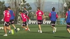 Real Madrid Training session - Odegaard made a beautiful assist for Ronaldo header