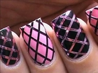 Striping tape nail art tutorial for beginners easy how to do nail art striping tape tutorial video - Video Dailymotion