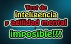 Test de inteligencia y agilidad mental imposible