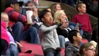 Funny Kid Steals The Show Dancing Uptown Funk During Hockey Game
