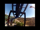 Six Flags Magic Mountain POV BATMAN the Ride